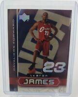 2003 Lebron James Upper Deck LBJ-4 RC Rookie NM-MT PSA? BGS? Cavs King James👑👑