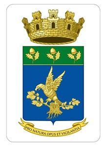 Corpo Forestale dello Stato-Stickers Adesivo Collezionismo (Araldica-Militaria)