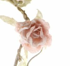 Vintage Chic Rose Flower Garland in Pale Pink *Shabby Chic Wedding Decoration*