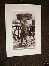 PHOTOGRAPH OF postcard Billingsgate Porter London repro
