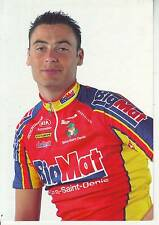 CYCLISME carte cycliste BENJAMIN LEVECOT équipe BIG MAT AUBER 93