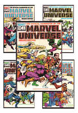 Official Handbook of the Marvel Universe Deluxe Edition 1 VF/NM 9.0+ 1985 Comics