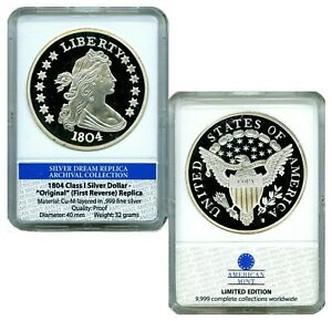 1804 CLASS I SILVER DOLLAR  ARCHIVAL EDITION COIN PROOF LUCKY MONEY VALUE $99.95