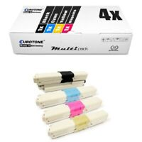 4x Eurotone Eco Cartridge For Oki ES-3452-DN ES-5462-DN