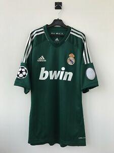 REAL MADRID SPAIN 2012/2013 THIRD FOOTBALL SOCCER SHIRT JERSEY CAMISETA ADIDAS