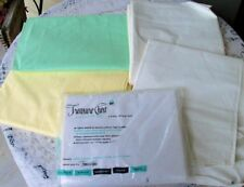 Lot of 5 Vintage Full Size Sheets * Combspun * Pequot Percale