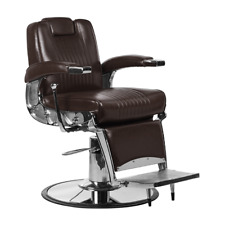 DBC Chicago Barber Chair Mocha Brown