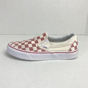 Vans Classic Slip On Shoes Checkerboard Men's Size 5.5 /Women's Sz 7 721356
