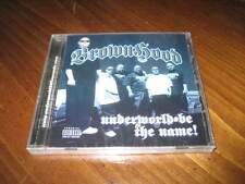 Chicano Rap CD Brownhood - Underworld Be the Name - Young Spanks Gfunk PAYASO