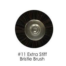 Dental Lab Extra Stiff Bristle Brush #11, 48-Pieces