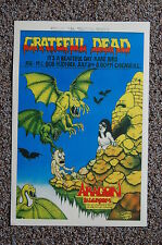 The Grateful Dead Concert Tour Poster 1970 Chicago