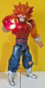 """mexican DRAGON BALL Z HEROES GOLDEN OOZARU CUMBER oversized 10"""" action figure !!"""