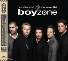 BOYZONE NO MATTER WHAT The Essential 3 CD DIGIPAK NEW