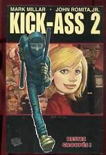 MARK MILLAR & ROMITA JR: KICK ASS 2 TOME 1: LES LEçONS DE LA VIE. PANINI. 2012.