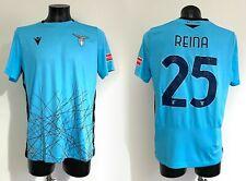 Reina Lazio maglia preparata Serie A 2020 2021 match worn issued shirt SPAIN