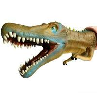 Dinosaurs Game Dino Head Glove Spinosaurus Hand Puppet Toy Kids Role Play Party