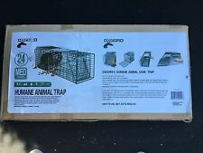 """Cage Live Trap 24""""x7""""x7"""" Trapping Squirrel Rabbit Skunk #1105 Ferral Cat"""