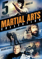 5-Movie Martial Arts Collection: East Meets West DVD