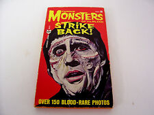 Famous Monsters of Filmland Paperback Book #3 Creature Frankenstein Dracula