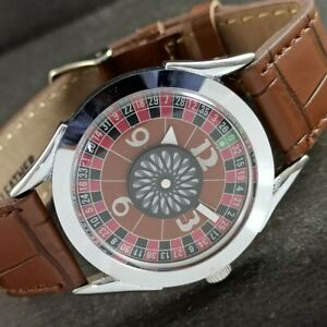 ARTDECO STYLE WINDING VINTAGE SWISS MENS WATCH MOVABLE MIDDLE RING 459aa230885-5