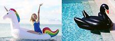 Black Swan and Unicorn Pool Float-Get Bundle Discount-Aussie Floaties Stock