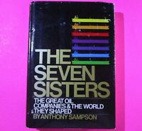 The Seven Sisters by Anthony Sampson 1975 1st Viking Edition 2nd Print Hardcover