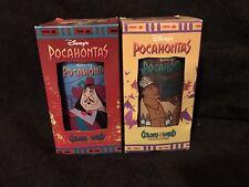 Disney Pocahontas John Smith Colors of the Wind Glass Burger King 1990/'s #B105
