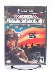 New Conflict: Desert Storm Nintendo GameCube 2003 Factory Sealed