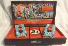 FLY Team Gulf Porsche 917 Le mans Slot Cars 1970