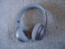 LikeNew Beats by Dr. Dre Solo 2 Solo2 Wired Headband Headphones - Grey