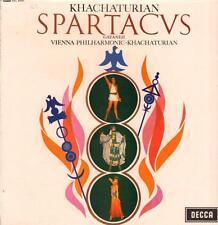 Khachaturian(Vinyl LP)Spartacvs-Decca-SXL 6000-UK-VG+/Ex