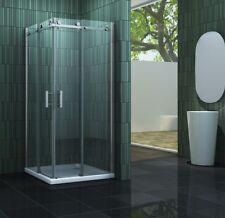 TECHNO 90 x 90 x 200 cm Duschkabine Duschtasse Dusche Duschwand Duschabtrennung