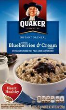 QUAKER Instant Oatmeal 'Blueberries & Cream'   350 gr  Original aus USA