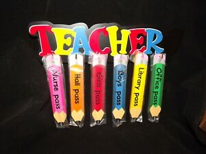 Teacher Hall Passes