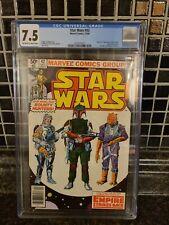 "🔥 👀  Star Wars #42 CGC 7.5 1st Appearance Of Boba Fett. ""READ"""