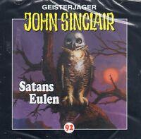 JOHN SINCLAIR - Teil 92 - Satans Eulen AUDIO CD - NEU OVP