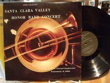 santa clara valley honor band 1964 randall spicer Vinyl LP record