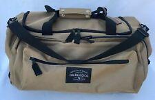 G H Bass Outdoor Gear Duffle Bag Brown w Black Trim Shoe Compartment Travel Gym