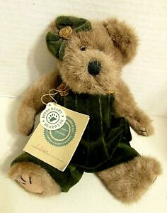 "VINTAGE BOYDS BEARS LILLIAN K. BEARSLY WITH ORIGINAL TAGS; 10"" RETIRED"
