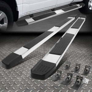 """FOR 09-20 DODGE RAM 1500 2500 3500 6"""" CREW CAB SS FLAT STEP BAR RUNNING BOARDS"""