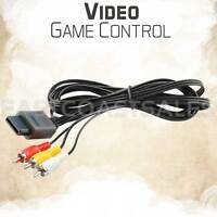 Video Game RCA AV TV Audio Stereo 6' Cable Cord for Original NES / SNES Nintendo