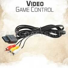 Video Game RCA AV TV Audio Stereo 6' Cable Cord for Nintendo 64 N64 / Game Cube