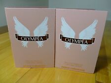 OLYMPIA PACO RABANNE EAU DE PARFUM,spray sample size, AMAZING you get 2 samples