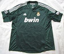 Tercer Jersey de Real Madrid Camiseta Adidas Liga de Campeones 2012-13 Trikot Adulto 2XL