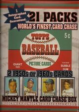 1952 -FACT SEALED 21 WAX PACK -CARD CHASE BOX+ AUTO+ 2 1950/60'S CARDS
