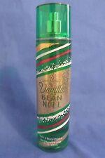 Bath and Body Works New Vanilla Bean Noel Women Fine Fragrance Mist 8 oz