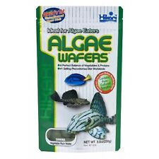 Hikari Algae Wafers 82g for Aquarium Catfish Plecos Fish Bottom Feeders