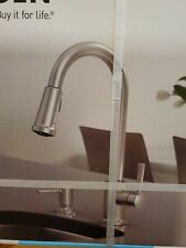 Moen Indi 87090MSRS Pulldown Kitchen Faucet Spot Resist Stainless Finish. New.