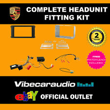 Connects2 CTKPO02 Porsche Cayenne Complete Double Din Fascia Stereo Fitting Kit