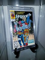 "Spider-Man #21 Signed by Stan Lee 1992 ""REVENGE OF THE SINISTER SIX""  MARVEL"